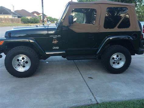 97 Jeep Wrangler Tire Size 1997 Jeep Wrangler Tj 4 0 4x4