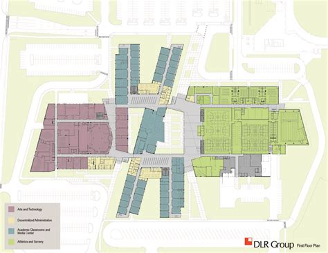 high school gymnasium floor plans gallery of metea valley high school dlr 7
