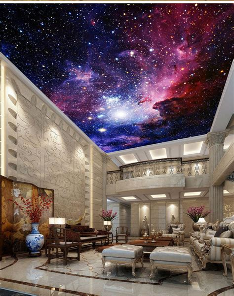 Galaxy Wallpaper For Ceiling galaxy nebula outerspace ceiling wall mural wall paper