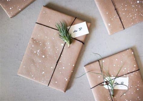 Paket Fashion Styles Brown stylish simplicity kraft paper gift wrapping ideas
