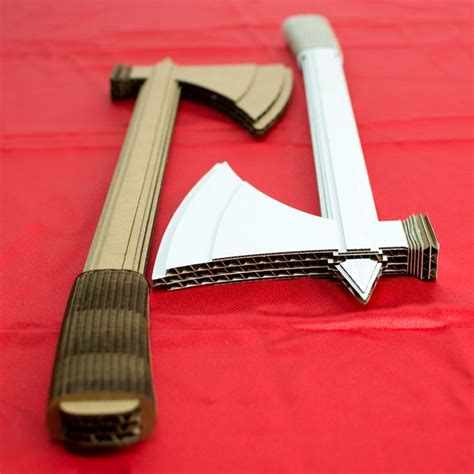 How To Make A Axe Out Of Paper - best 25 cardboard crafts ideas on crafts with