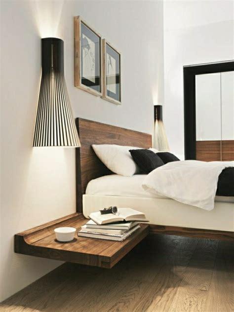 nachttisch bett einhängen nachttisch zum einh 228 ngen praktische schlafzimmerl 246 sung