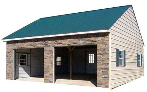 Custom Metal Sheds by Custom Metal Buildings
