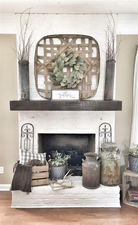 best 25 farmhouse fireplace ideas on