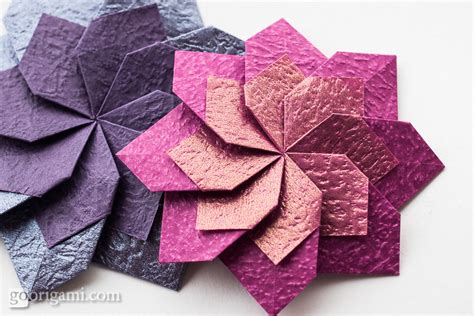 origami flowers and plants gallery go origami