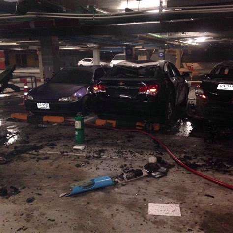 samui car bomb explosion and surat thani fire
