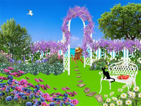 garden flowers nature  image  pixabay