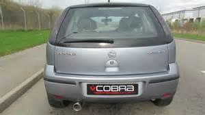 Vauxhall Corsa C Exhaust Vauxhall Corsa C Performance Exhaust By Cobra Sport