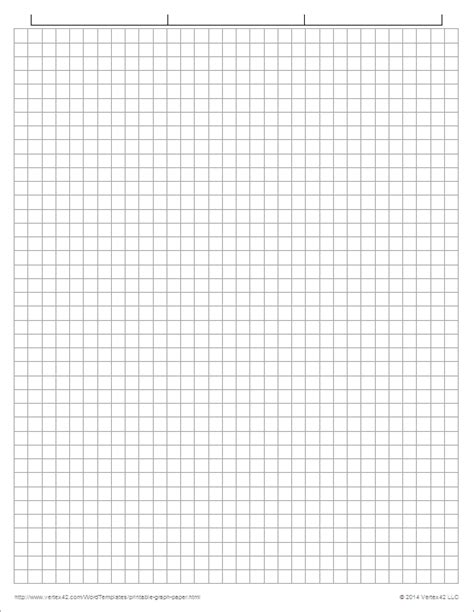 How To Make Graph Paper - printable graph paper templates for word