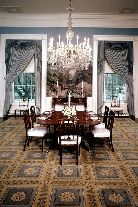 president nixons white house dining room   picture