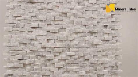 Groutless Kitchen Backsplash mini split face stone tile carrara 120sapsssca youtube