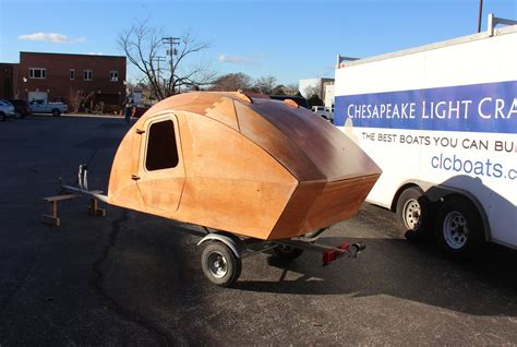 Diy Micro Camper chesapeake light craft teardrop camper development sneak