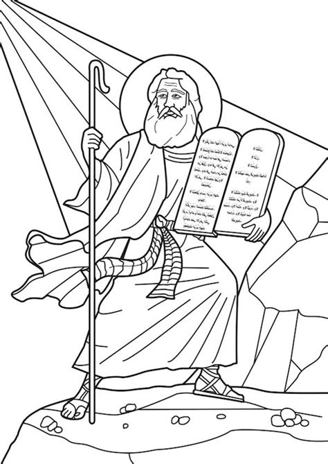 printable coloring pages ten commandments ten commandments coloring pages coloring home