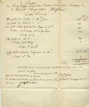 Josephine Divorce Letter josephine empress letters autographs documents manuscripts