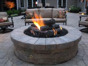 Firepit Gas Patio Features And Pits The Site
