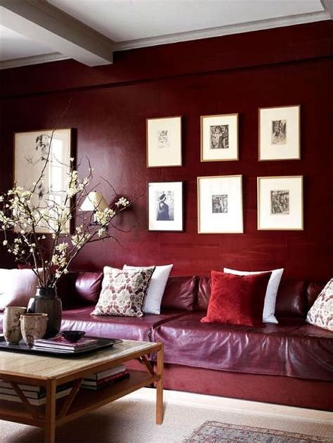 wine colored living room 25 ideas for modern interior design and decorating with marsala wine color