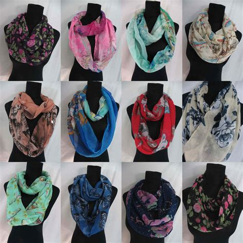 us seller 12pc wholesale infinity scarf loop scarves for