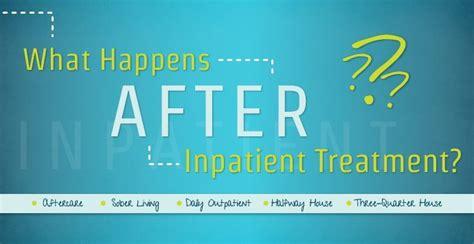 What Happens In Inpatient Detox what happens after inpatient treatment