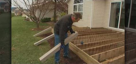 Backyard Decks Pictures How To Renew Your Deck With Composite Materials With Lowe