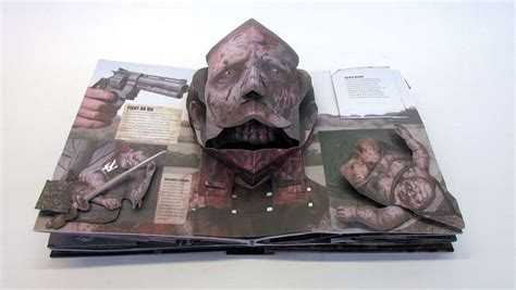 libro the pop up pull espectacular libro pop up de la serie the walking dead