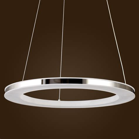 Modern Pendant Light Fixture Acrylic Led Ring Chandelier Pendant L Ceiling Light