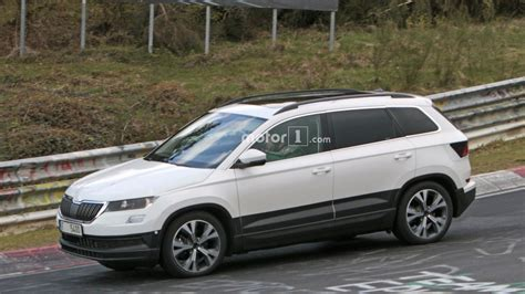 2018 skoda yeti karoq spied up with clever disguise