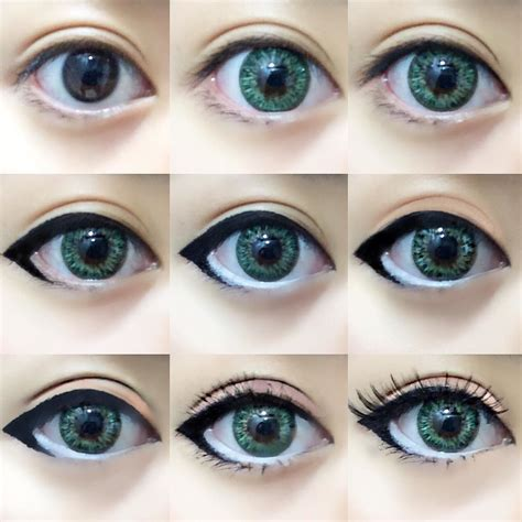tutorial eyeliner cosplay one of my favorite makeup routines for cosplay or circle