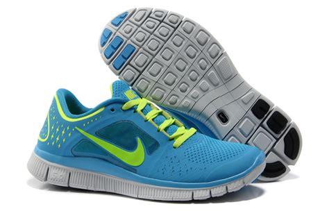 nike blue and green running shoes nike free run 3 0 buyniketrainersonline co uk