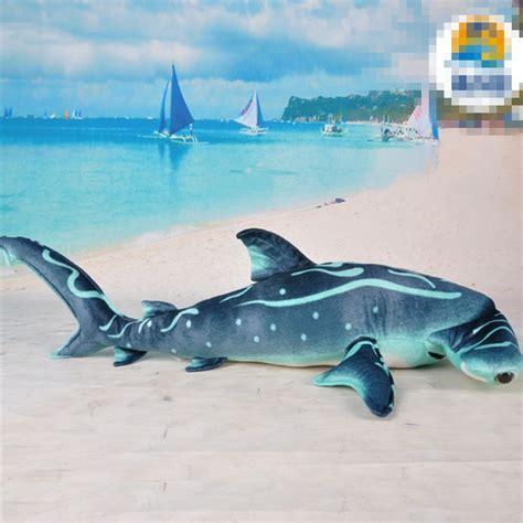 shark plush 95cm blue shark plush simulation shark doll gift