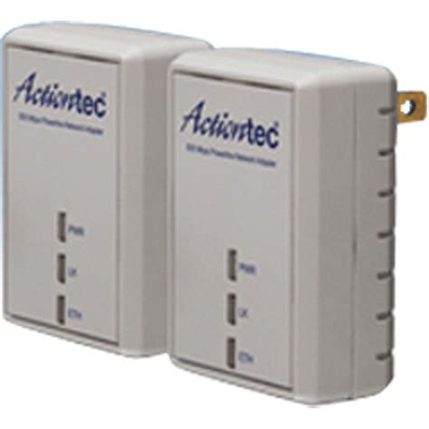 actiontec 500 mbps powerline adapter two unit network kit