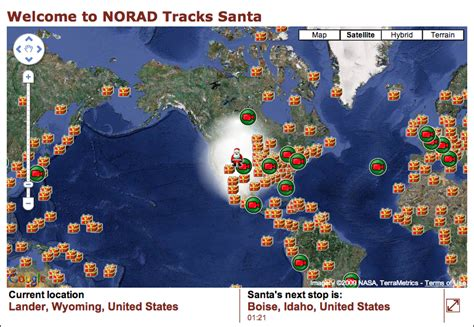 tracking santa on norad how fast does santa travel to deliver gifts