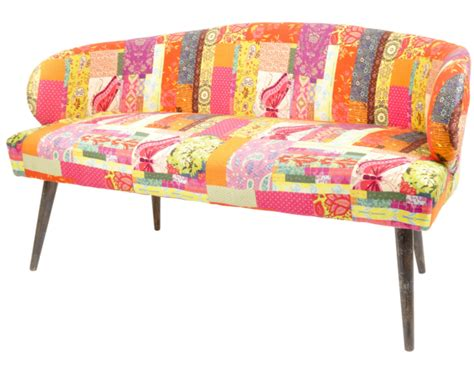 Small Patchwork Sofa - 6 traditional and small multi color sofas