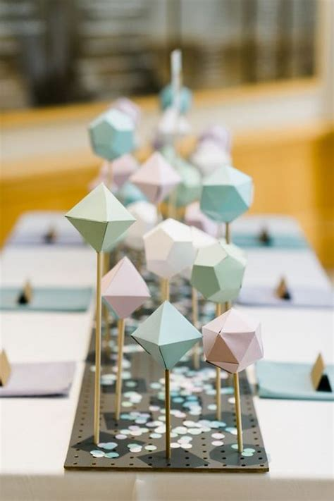 Origami Wedding Centerpieces - 41 trendy origami wedding ideas happywedd