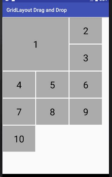 gridlayout spec android gridview with colspan and rowspan stack overflow