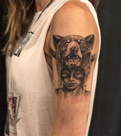 photo tatouage femme un tatouage sauvage sur le bras