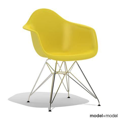 Eames Plastic Armchair Dar by 3d Model Eames Plastic Armchair Dar