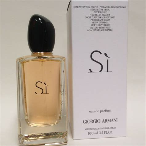 si by giorgio armani 3 4 oz 100 ml eau de parfum spray for new in tst box 3605521816658 ebay