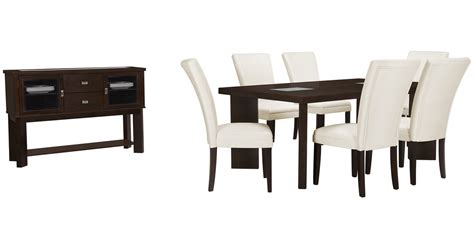 city furniture delano2 white rectangular dining room