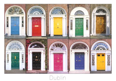 Nice House Plans ireland the doors of dublin have bag will travel
