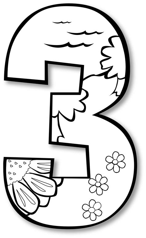 printable numbers black and white number one black and white clipart panda free clipart