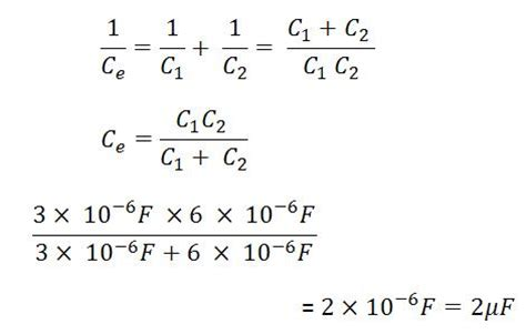 equivalent series resistance capacitor formula for combination of capacitors lesson 15 10 part 2