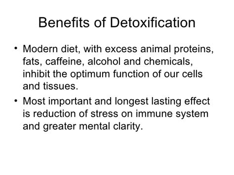 Benefits Of Detoxing From Caffeine by Detoxification