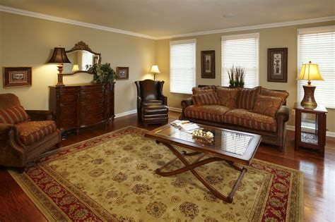 deluxe persian living room designs with artistic rug