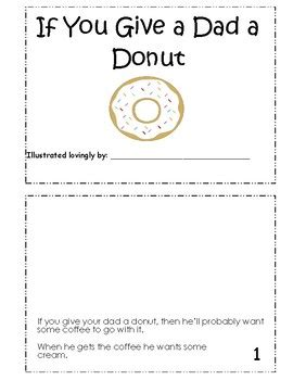 if you give a a donut if you give a a donut f by teaching curious teachers pay teachers