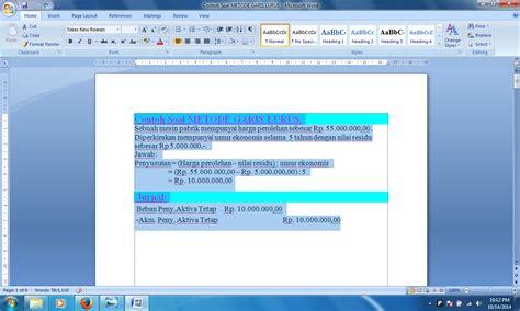 format artikel sederhana panduan sederhana microsoft office 2007 cara menghapus