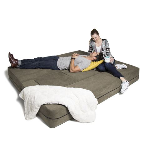 ottoman sleeper sofa convertible sleeper sofa 3 ottomans green jaxx