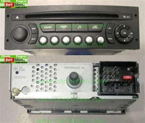 Citroen C4 Picasso Electrical System Radio Car Parts