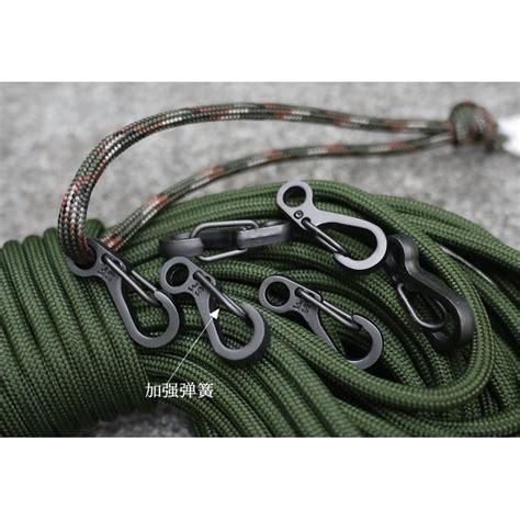 Mini Keychain Hanging Buckle Quickly Key Ring Carabiner Alat Bantu Tali Mini Keychain Hanging Buckle Quickly Key Ring Carabiner Alat Bantu Tali Black