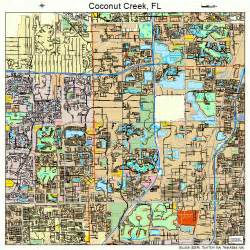 where is coconut creek florida on map coconut creek florida map 1213275
