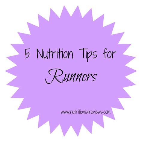 9 tips for running during 5 nutrition tips for runners the nutritionist reviews